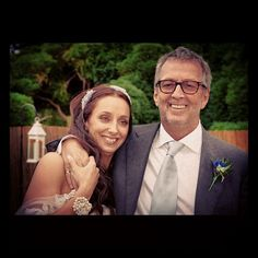 Daughter Ruth's wedding day.