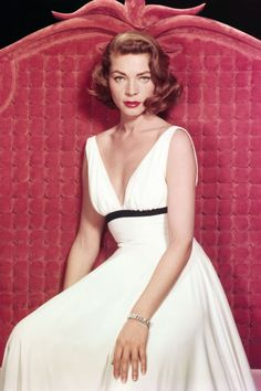 Lauren Bacall...