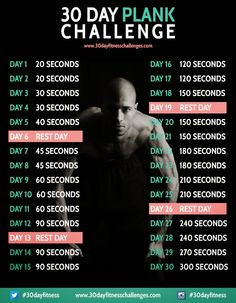 Plank Challenge, do-able!