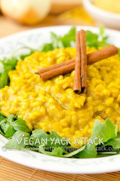 Pumpkin Curry Risotto | Vegan Yack Attack