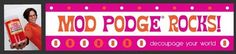 A whole site of Mod Podge craft ideas!