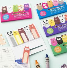 Aliexpress.com : Buy Cute Various Animals Memo Pad Sticky Notes Memo Notepad School Office Supply Escolar Papelaria Gift Stationery from Reliable stationery express suppliers on House of Novelty  | Alibaba Group