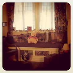 Our first child's nursery will be modeled after Christopher Robin's room.