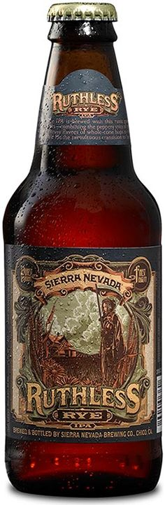 Tasting Review: Ruthless Rye IPA from Sierra Nevada Brewing ... #beer