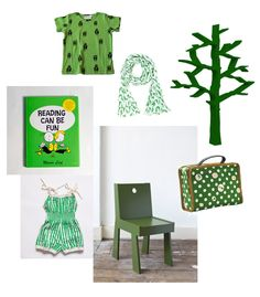 all cute things green