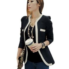 Damen Blazer Business Freizeit Jacke(Medium,Schwarz) Partiss http://www.amazon.de/dp/B00JGJ8Y3G/ref=cm_sw_r_pi_dp_kmkhvb1F6QCQ9