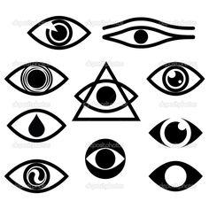 Conjunto de caracteres - ojos