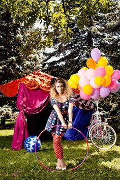 Traveling Circus shoot