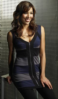 Michaela Conlin as Angela Montenegro on Bones