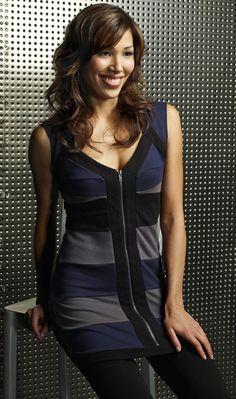 Michaela Conlin as Angela Montenegro on Bones