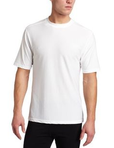 ExOfficio Men's Give-N-Go Tee by ExOfficio. 94% nylon. Perfect solution to over-packed suitcases and tricky climates. Extremely quick-drying so you can wash on the go and pack fewer shirts. Wear as an undershirt or for working out; slim fit with a straight hemline. Ideal for backpacking, outdoor work, fishing, golfing, urban exploration, and even just lounging.