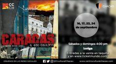 """""""Caracas a 450 Grados"""" conmemora a la Sultana del Ávila en el Centro Cultural Chacao http://crestametalica.com/caracas-450-grados-conmemora-la-sultana-del-avila-centro-cultural-chacao/ vía @crestametalica"""