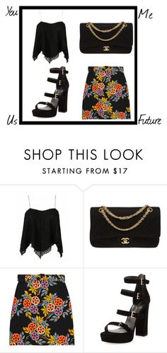 """""""Love letters"""" by junglequeen84 ❤ liked on Polyvore featuring Chanel, MSGM and Stuart Weitzman"""