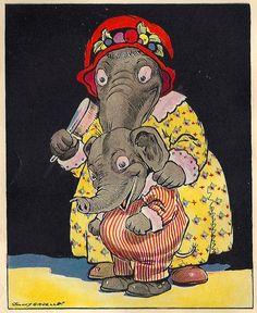 Eddie Elephant by cluttershop