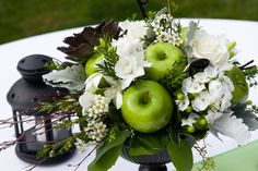 fruit and floral arrangements