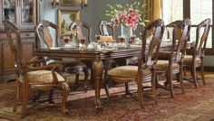 This is so beautiful.....Rectangular Dining Table $2901.80