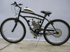 High Performance Gas Powered Bicycles | Chrom_Gas_Tank_Motorized_Bicycle_Gas_Bike_Motor_Engine_Moped_Scooter ...