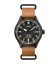 Mens Analog Waterbury Collection Watch