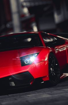 cherry red lamborghini murcielago lp 670