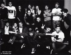 EXO-K poses for 'L'Officiel Hommes' Magazine