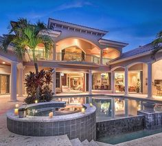 Gracious residence, overlooking the infinity edge pool and the golf course beyond. Boasting 6 bedrooms, 5 bathrooms, a home theatre, outdoor kitchen and much more. Listed at $4,500,000 by @Premier Sotheby's International Realty