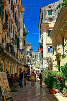 Corfu, old Town