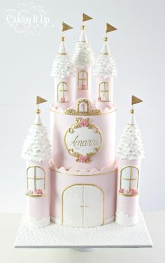Princess Castle Birthday Cake These 13 Amazing Princess Cake Ideas are perfect for any princess birthday party! Find your favorite princess birthday cake for your little one's party! 1st Birthday Princess, Princess Theme, Birthday Cake Girls, Princess Dresses, 4th Birthday, Birthday Celebration, Birthday Ideas, Girly Cakes, Baby Cakes