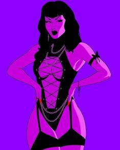 Pin Up Drawings, Dark Art Drawings, Fantasy Art Women, Dark Fantasy Art, Anime Girl Hot, Anime Art Girl, Character Art, Character Design, Grunge Art