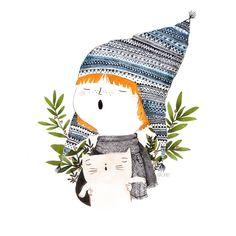 christmas card http://evacarot.blogspot.com.es/