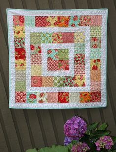 Have been looking for a pattern/tutorial for this quilt. Found it just in time for my next baby quilt
