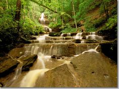 Tioga Falls, Fort Knox Military Reservation, Kentucky