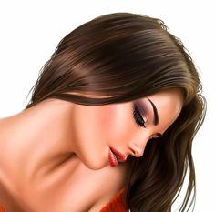 Girl 3d, Lips Cartoon, Beautiful Girl Drawing, Face Illustration, Color Pencil Art, Female Portrait, Woman Portrait, Art For Art Sake, Face Art