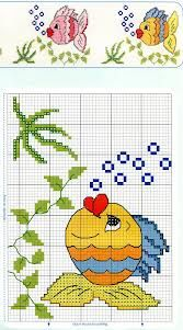 Anaide Ponto Cruz: Fourth part of children& graphics in ponto cruz, ate outro d . - Anaide Ponto Cruz: Fourth part of children& graphics in ponto cruz, ate outro dia. Cross Stitch Sea, Cross Stitch Cards, Simple Cross Stitch, Cross Stitch Borders, Crochet Borders, Cross Stitch Animals, Cross Stitching, Cross Stitch Embroidery, Embroidery Patterns