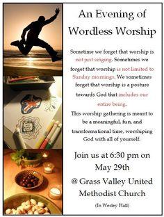 wordless worship
