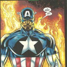 Falcon as Captain America