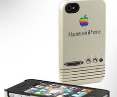Remember when Apple was the little guy? Now you can encase your trendy new iPhone with this nostalgic Macintosh case that reminds of you a simpler time in...