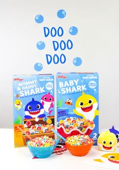 #ad We're all about the #BabyShark & loving this new Kellogg's Baby Shark 2-pack cereal from Sam's Club! See how enjoying this awesome new cereal as part of our breakfast routine #ontheblog today! #BabySharkatSamsClub