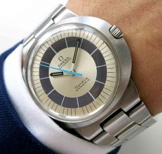Serviced Original Omega Dynamic Automatic with beautiful dial and steel bracelet