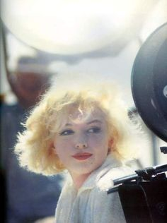 Marilyn Monroe on the set of Some Like It Hot, 1958