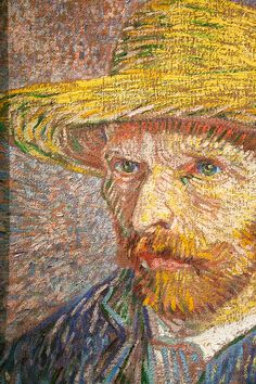 Vincent Van Gogh  self portrait. My favorite painting.