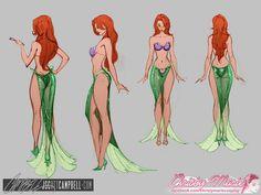 j scott campbell ariel | Ariel Costume by J. Scott Campbell | oh my...so sexy...