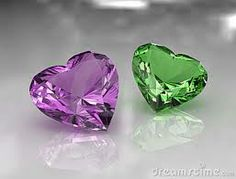True - these are both amethysts http://www.fashionaccessoryshop.com/blog_1.html #engagement rings