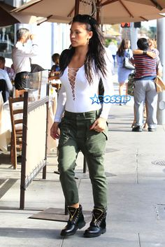 Sean Combs And Cassie Have Lunch In BeverlyHills