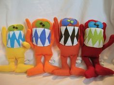 Tegwyn the Tooth Monster....because fairies are for girls on Etsy, $18.00