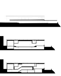 Zumthor House sections 02