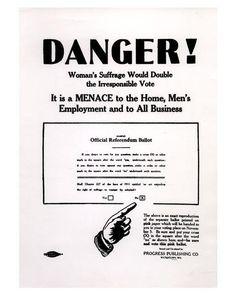 anti o suffragio feminino