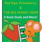 Friends~I love using Don and Audrey Wood books in my classroom and The Little Mouse, the Red Ripe Strawberry, and the Big Hungry Bear is one of my favorites. Your kiddos will love this fun tale and totally get a kick out of wondering where the bear is. With this file, your students will word on before, during, and after reading response activities and will disguise their own strawberry from The Big Hungry Bear!  $5.99
