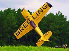 "75"" 26% Scale MXS-R 30cc Gas 3D Aerobatic ARF RC Airplane Nigel Lamb"