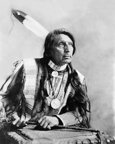 Indian Chief 1904 Vintage 8x10 Reprint Of Old Photo