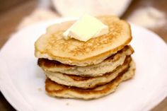 Coconut Flour Pancakes - use two whole eggs instead of 4 egg whites